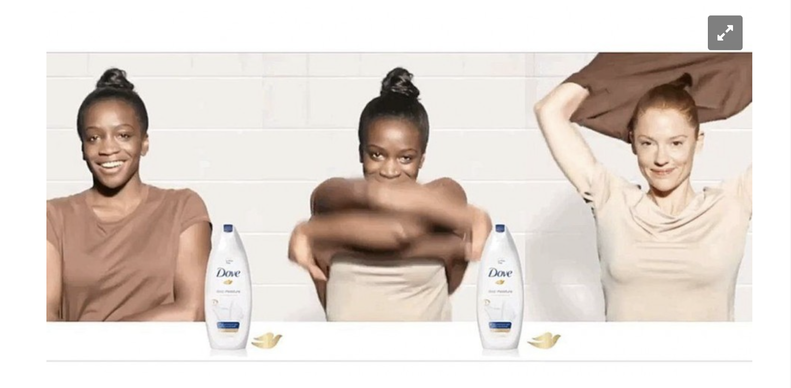 Dove ad for mobile apps which crossed the line