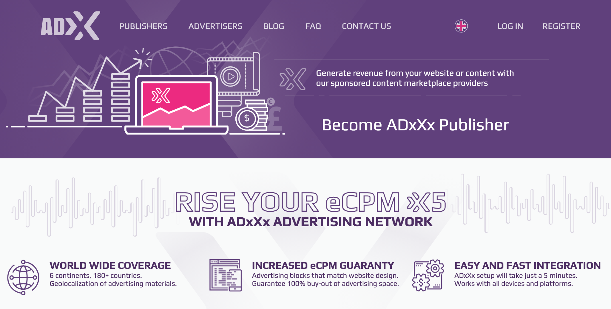 AdXXX Homepage