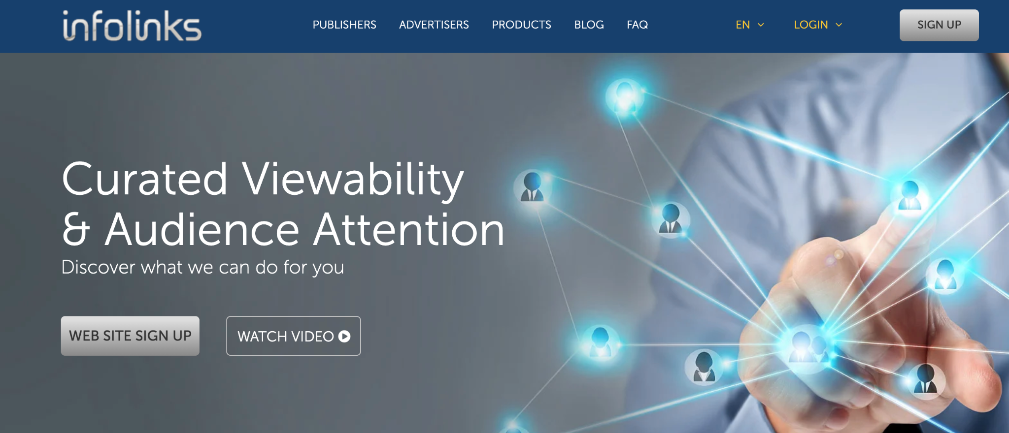 Infolinks Homepage
