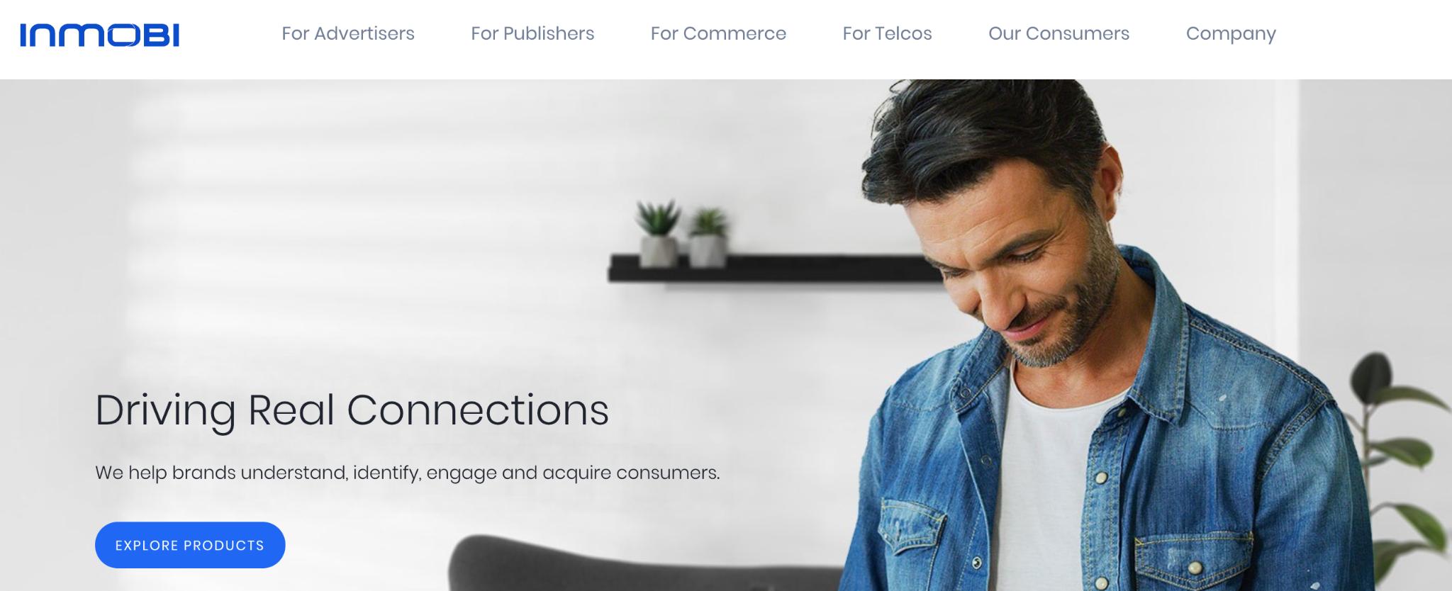 InMobi Homepage