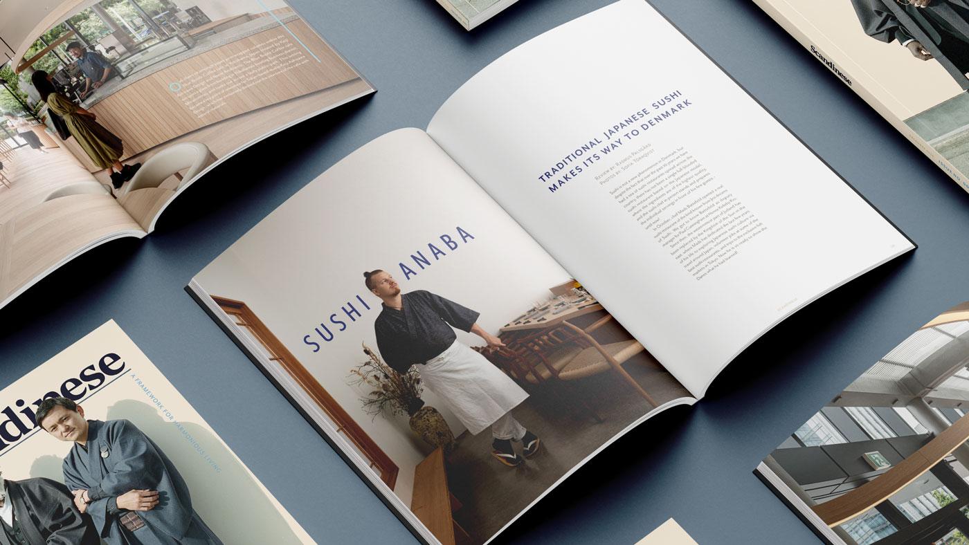 Scandinese Magazine