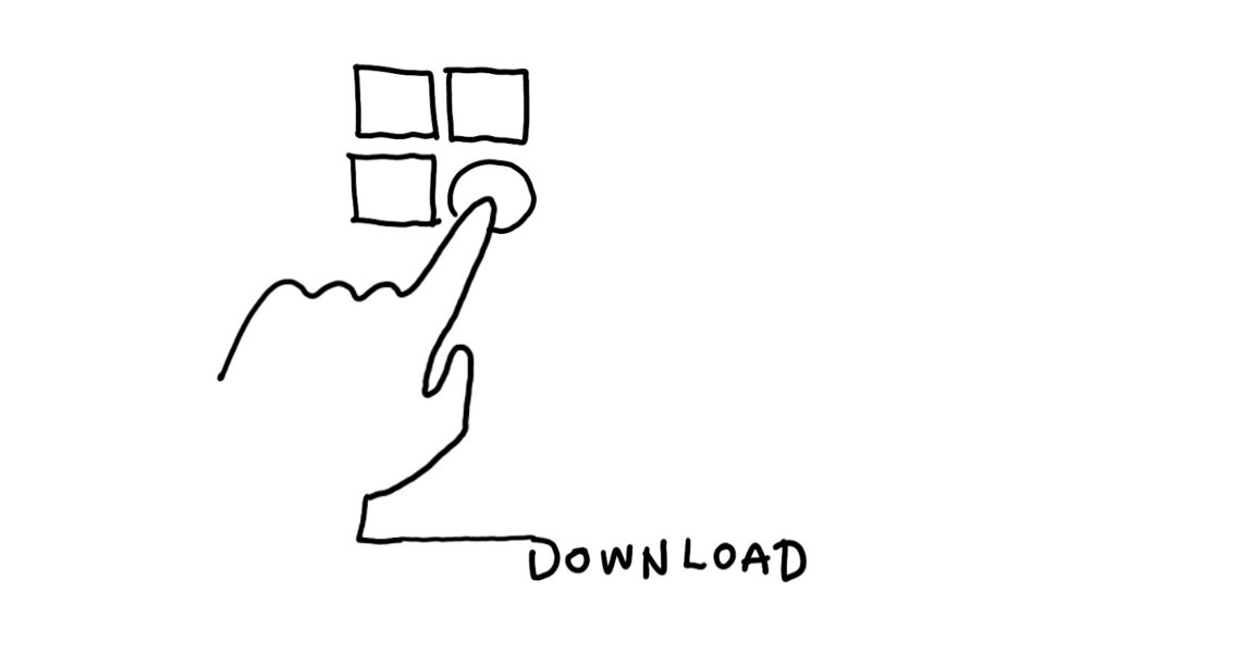 line drawing to download mental canvas draw