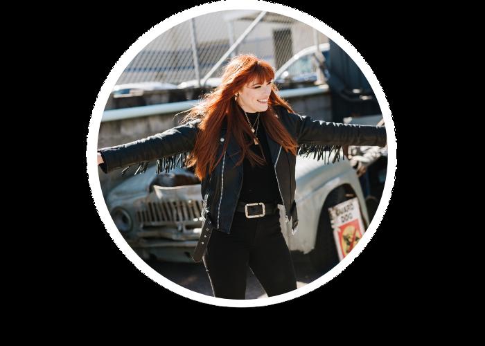 Headshot of Sarah Kenyon, Creative Business Coach