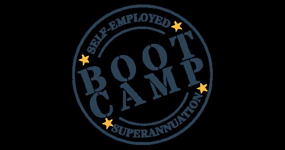 self-employed super bootcamp logo