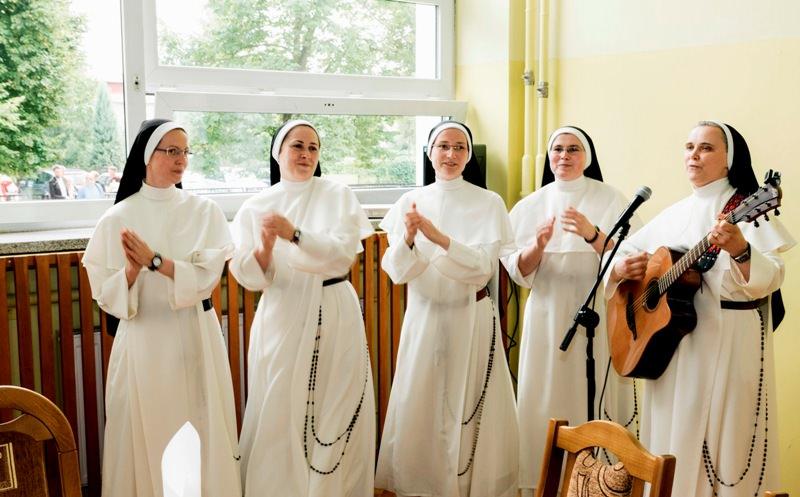 Sisters singing praise