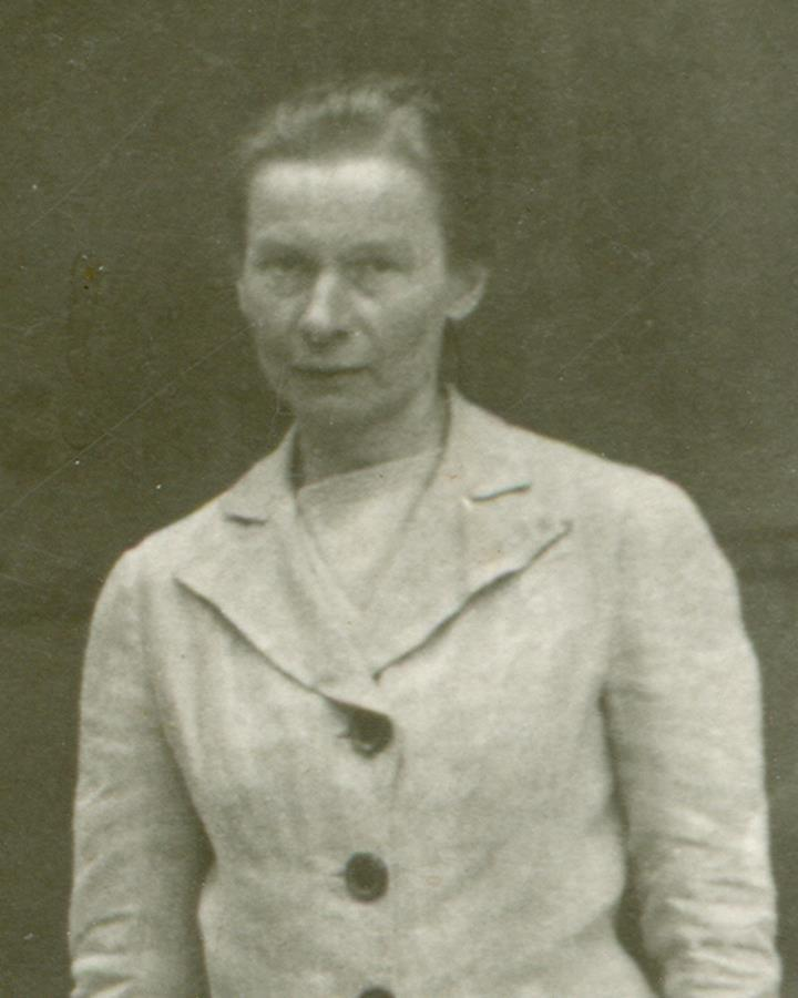 The last known photo of Blessed Julia before her arrest and imprisonment at the concentration camp.