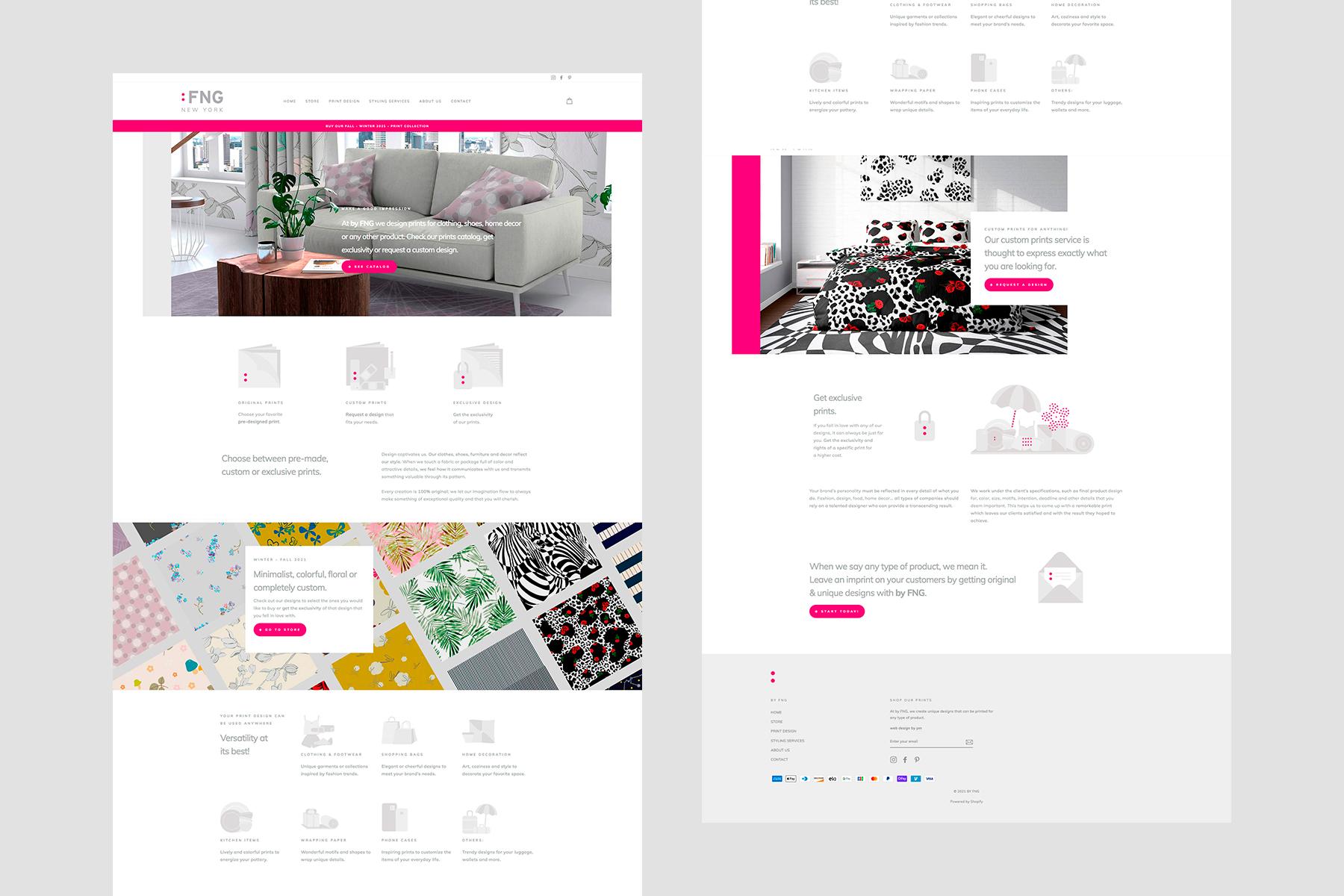 Custom Print Designer | NYC | byFNG.com