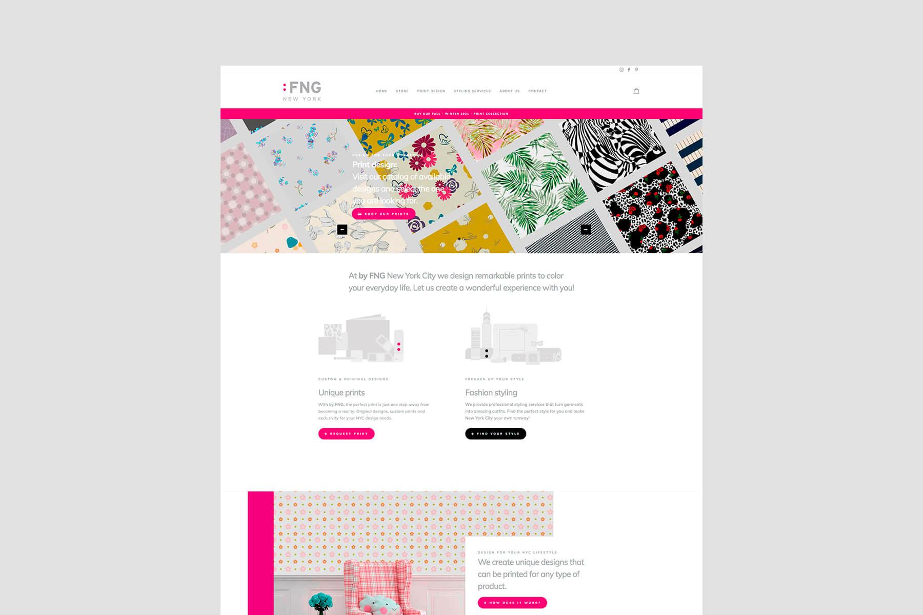 Exclusive Prints | Freelance Print Design | byFNG.com
