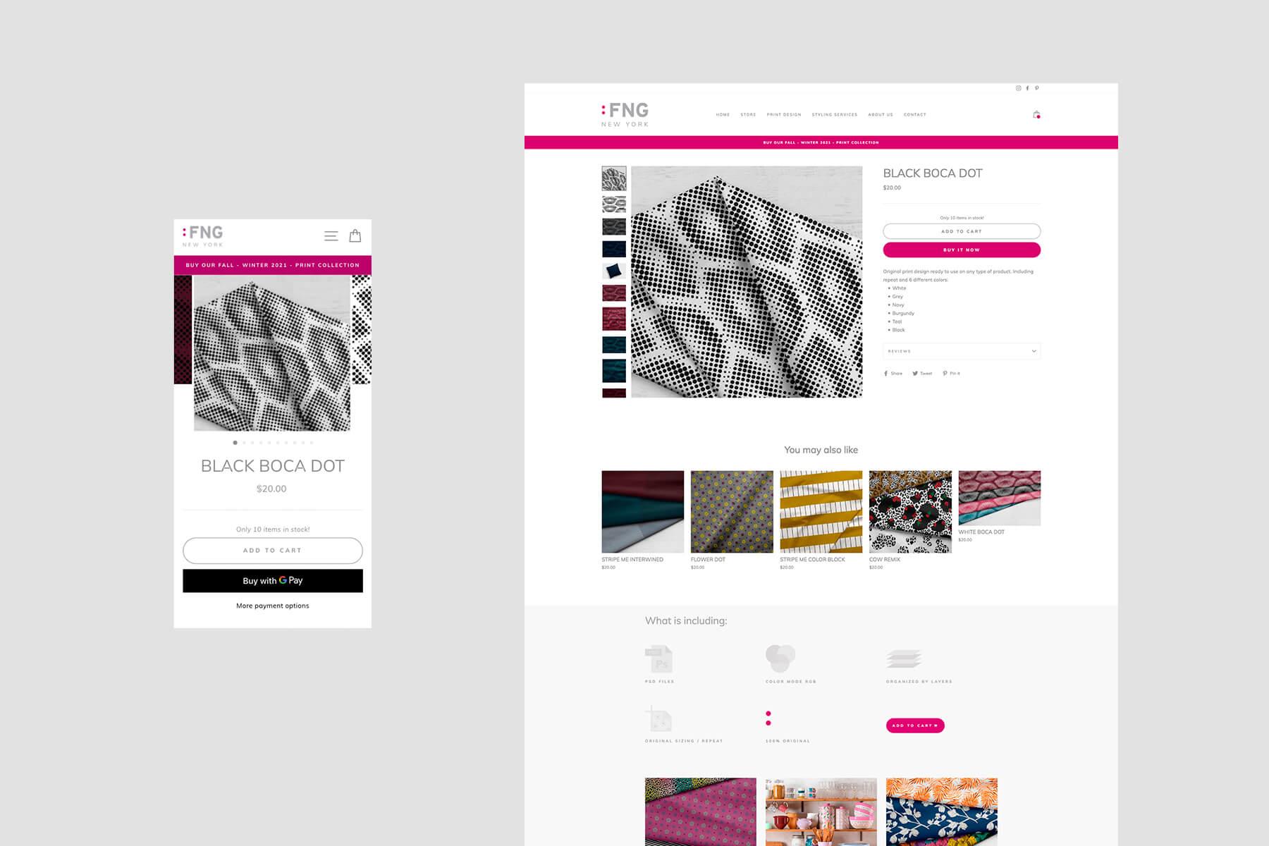 Tienda byFNG.com | Freelance Print Designer | Portafolio