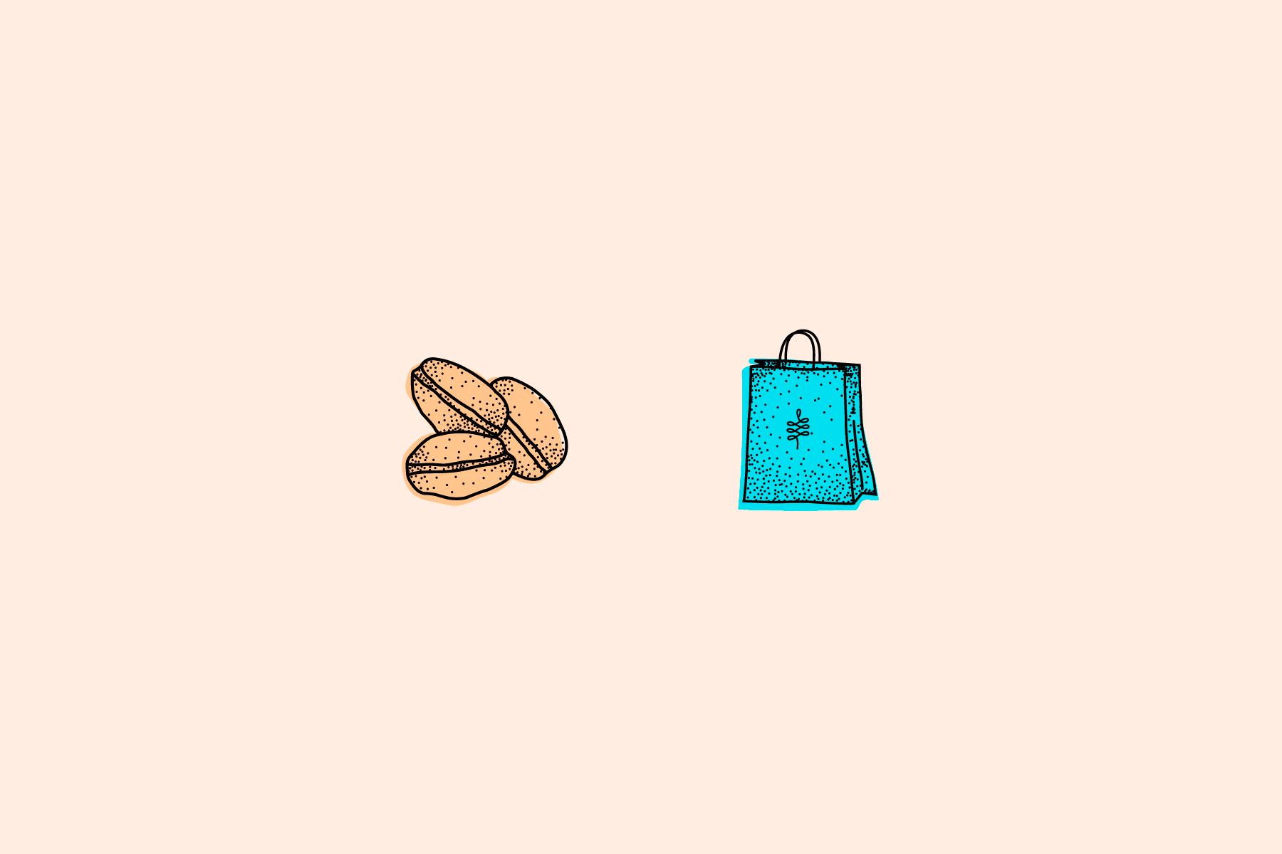 Ilustraciones - Pan y Mantequilla - Pamela Machado - Diseñadora