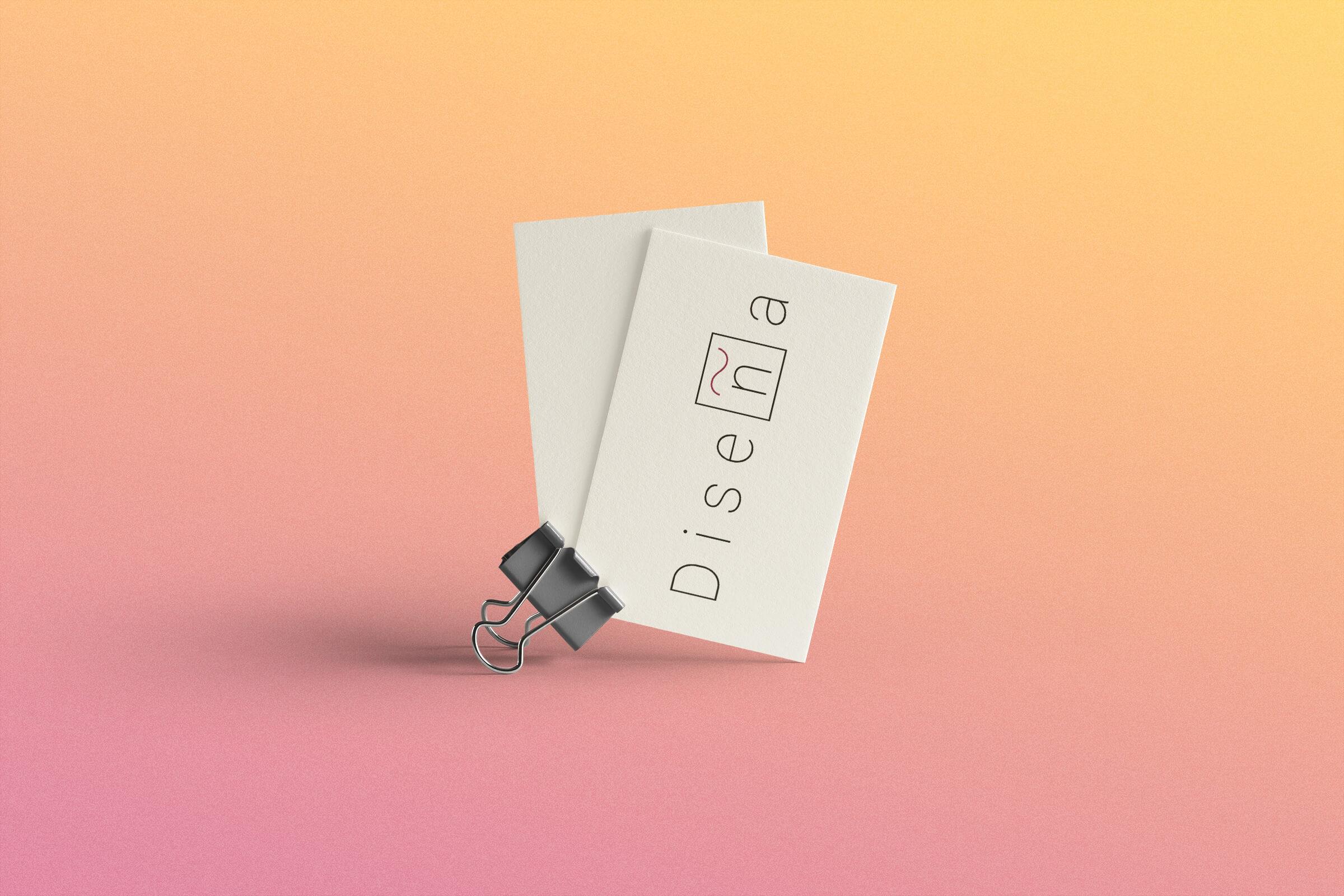 Visitenkarten Diseña