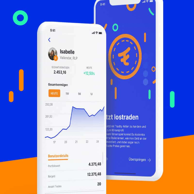 Screenshot Tradity App