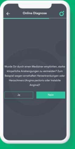 Screenshot Wellster App