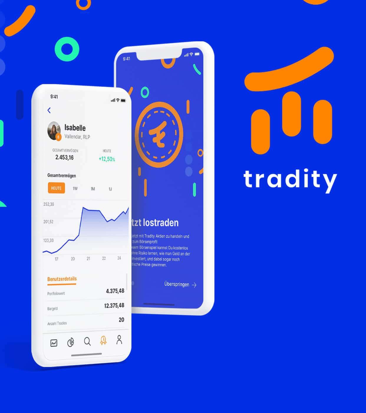 Screenshot Project Tradity App