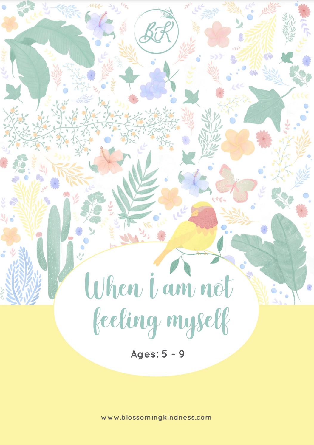 PDF file - When I am not feeling myself