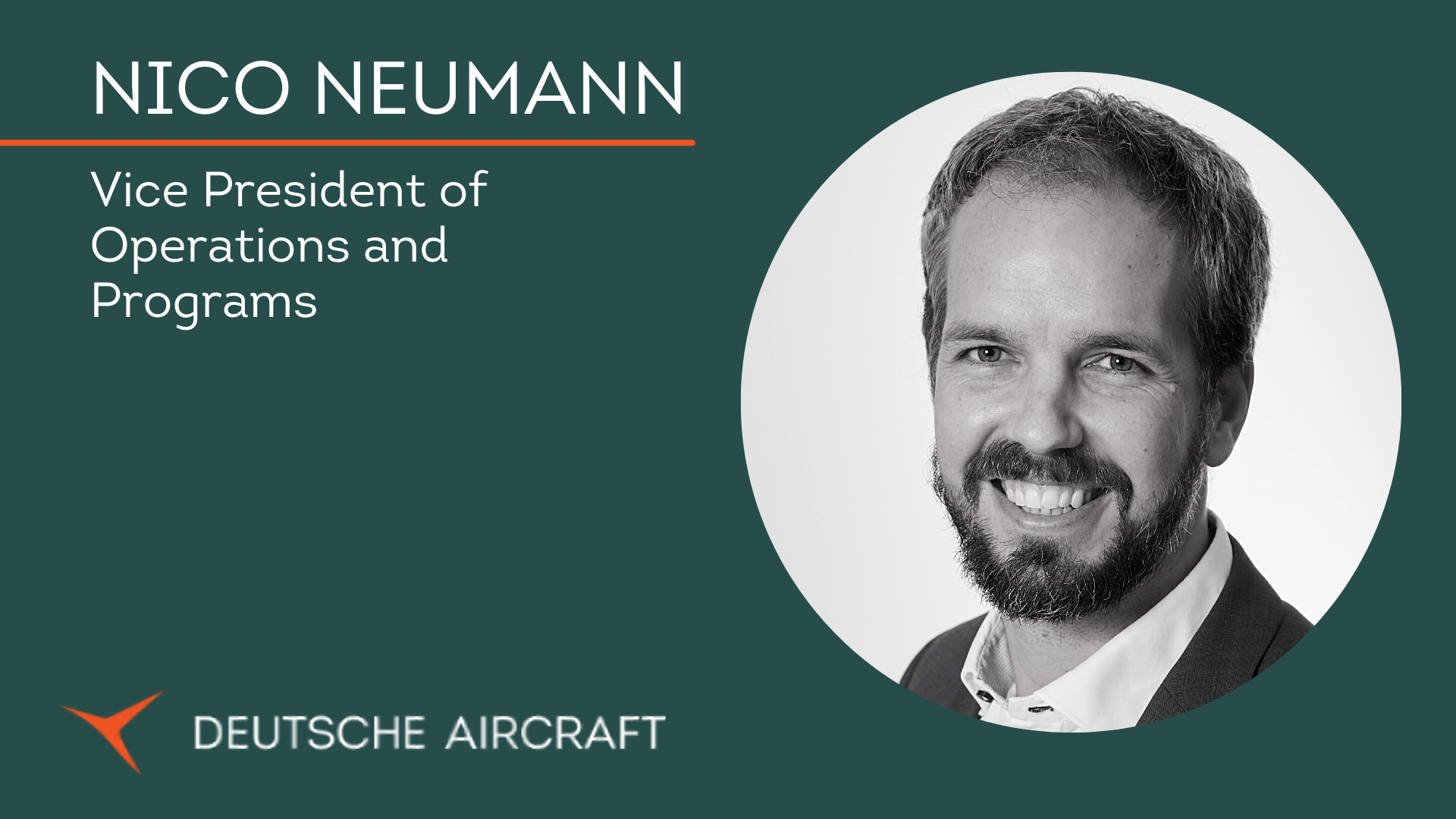Vice President of Operations and Programs Nico Neumann