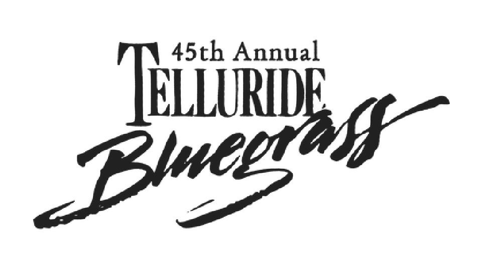 Telluride Bluegrass Festival logo