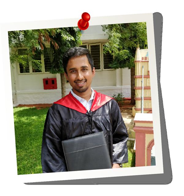 Gowtham Kandavel, Graduation Photo
