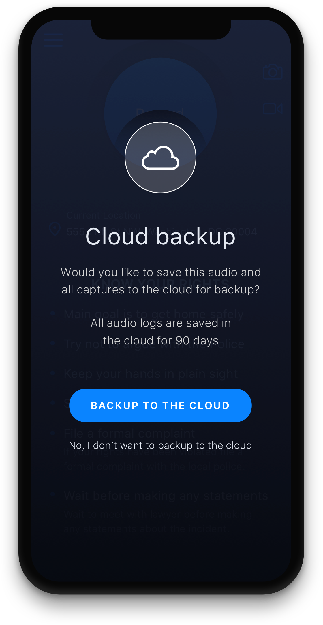 Cavalry cloud backup