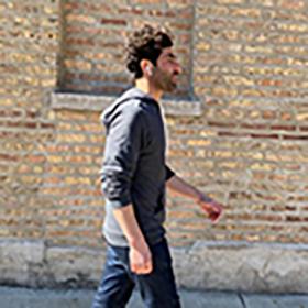 Greg walking