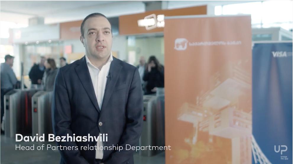 David Bezhiashvili - Head of Partners relationship Department