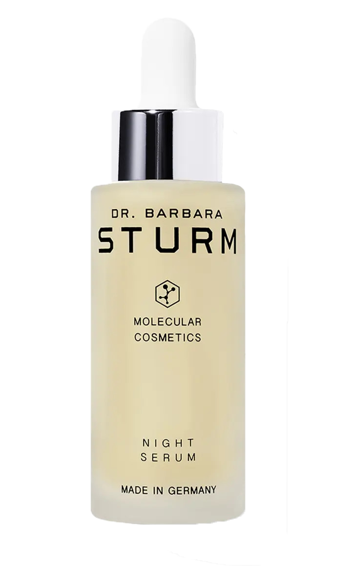 facing fertility natural skincare blog dr barbara sturm the night serum review