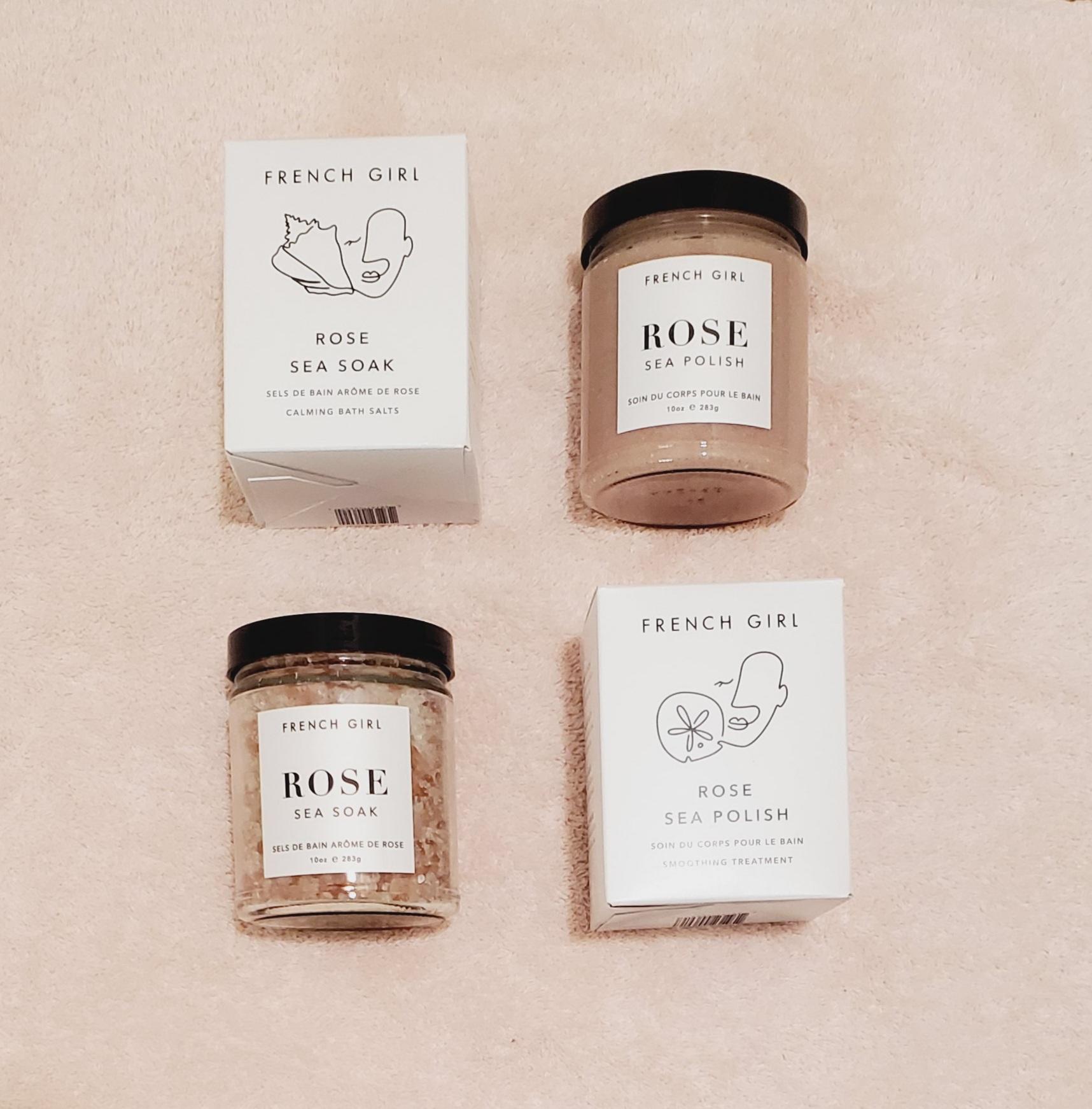 Product Review: French Girl Organics Rose Sea Soak