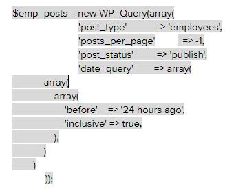 cron job query in wordpress