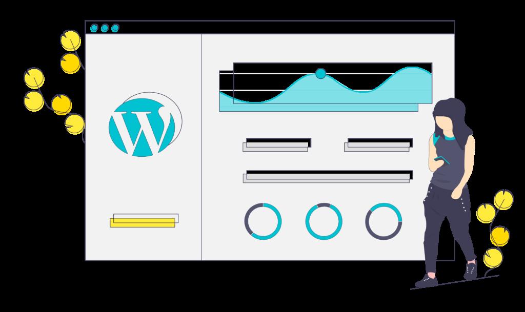 Wordpress SEO Wireframe by Exemplifi