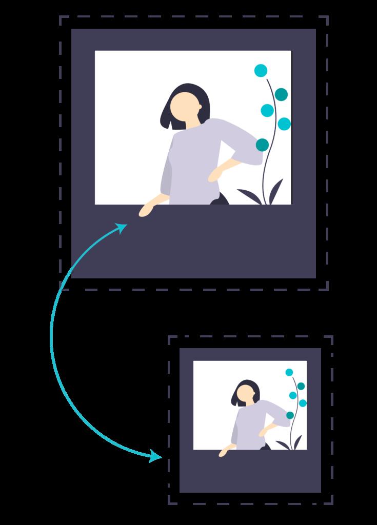 image minification illustration in wordpress
