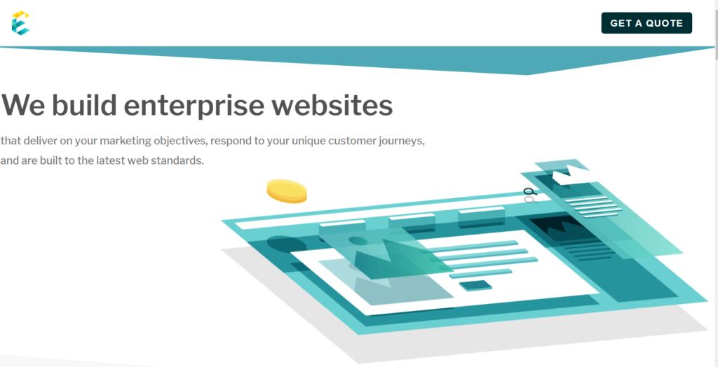 exemplifi enterprise websites front page