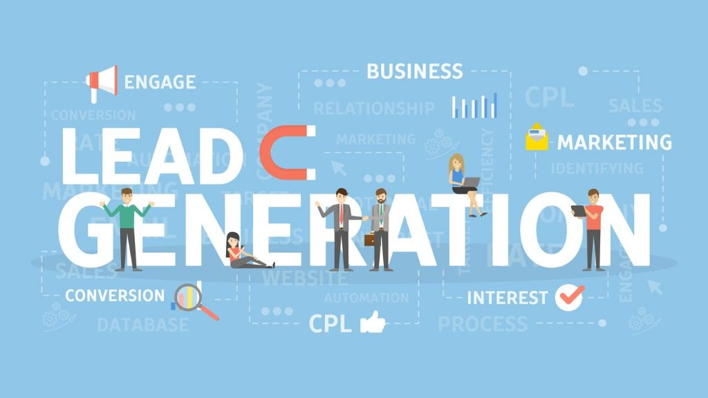 lead generation illustration
