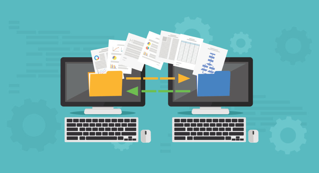 file transfer between two computers