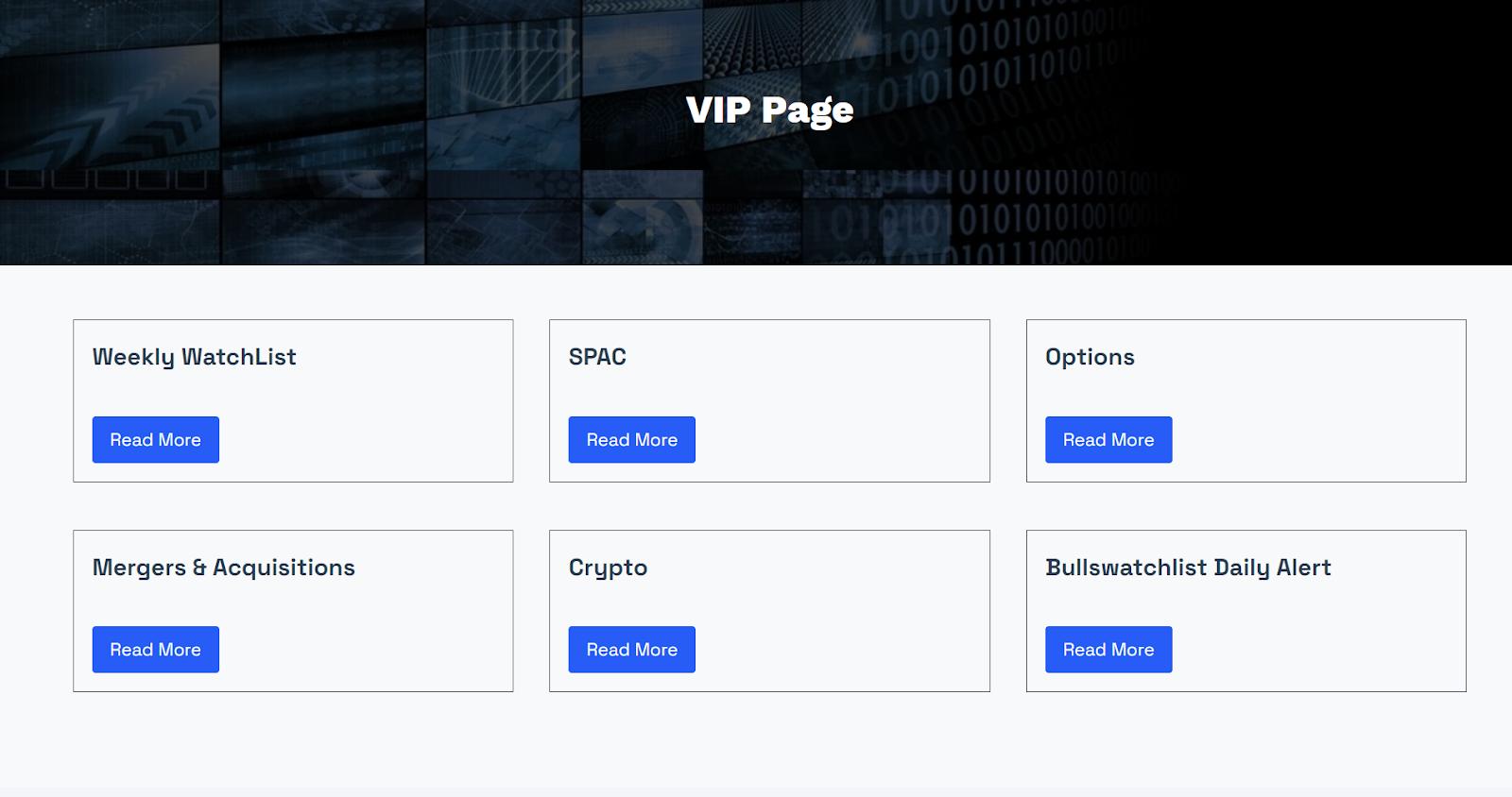 bullswatchlist vip page sample