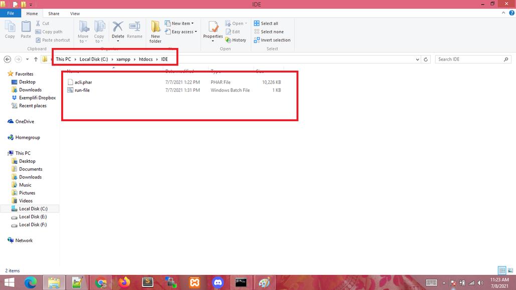 batch file creation