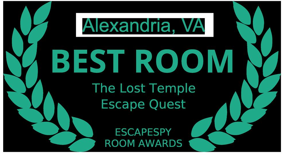 The Lost Temple - Best Escape Room in Alexandria Virginia - Escape Quest