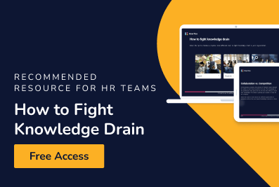 Recommended Resource for HR Teams - How to Fight Knowledge Drain - Free Access