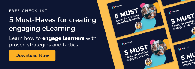 Free Checklist - 5 Must-haves for creating engaging eLearning - Download now