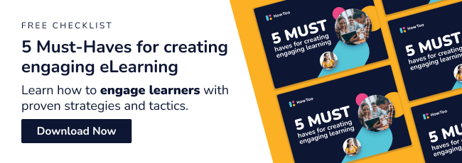 Free checklist. 5 must-haves for creating engaging learning. Download now.
