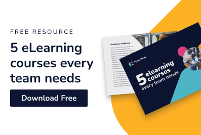Free resource. 5 eLearning courses every team needs. Download free.