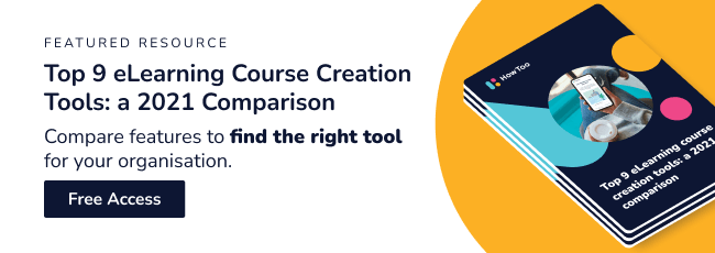 Top 9 eLearning Course Creation Tools: a 021 Comparison. Free access.