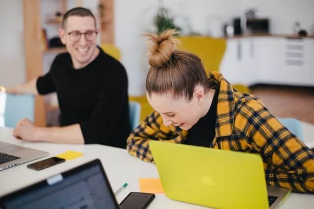 Engaged employees photo