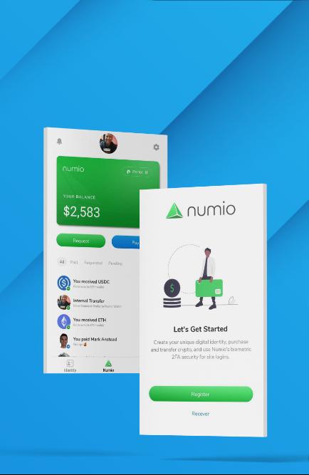 Numio App UI Design