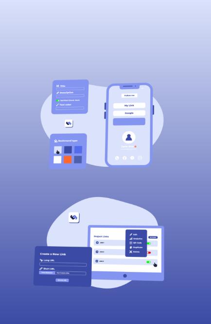 Epic Bio App and Web Design