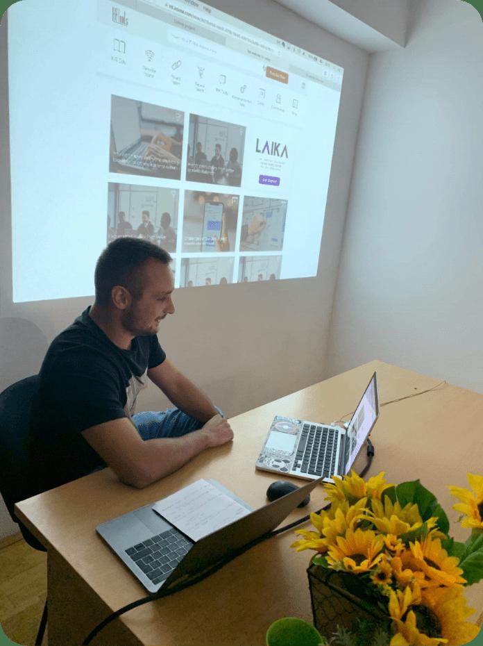 Bojan Mitevski in a Creative Seminar