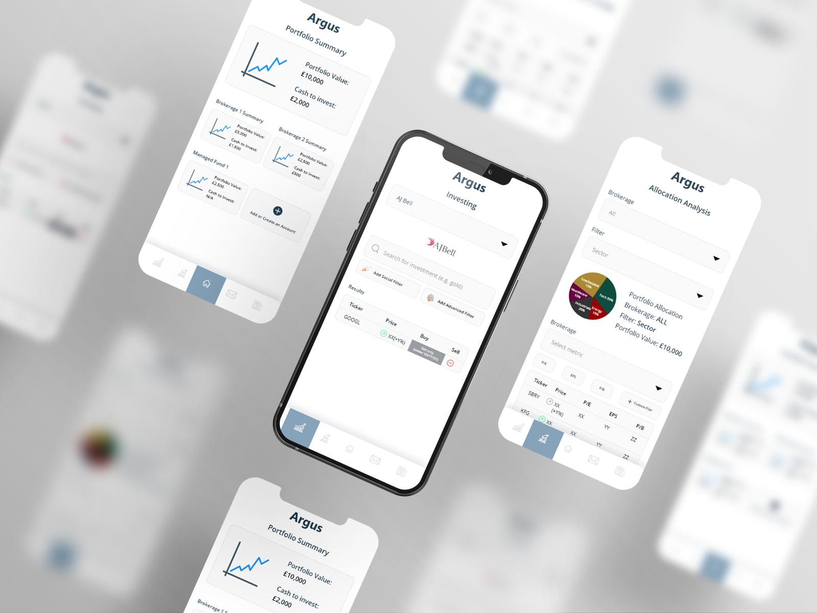Argus financial app