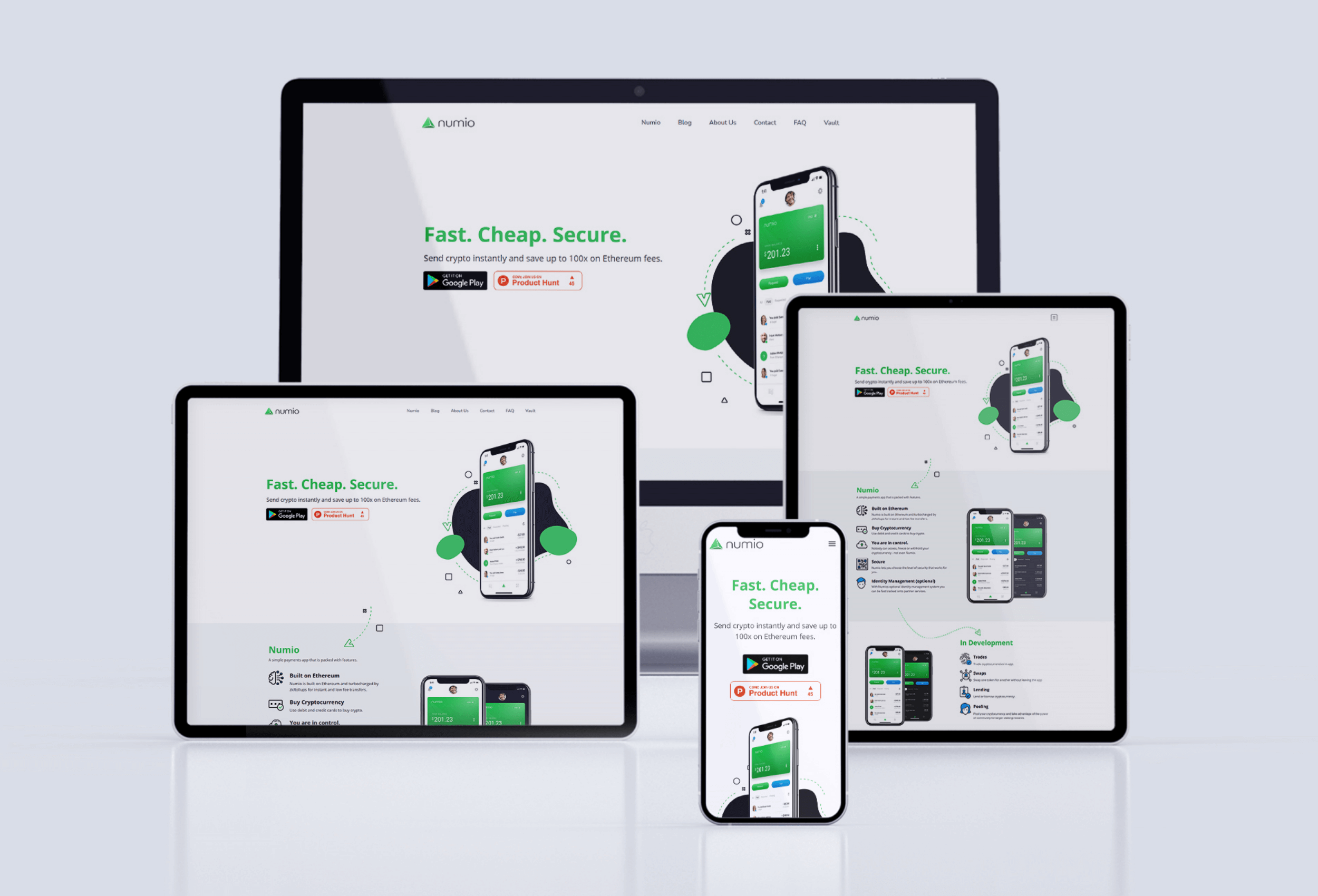 Website Visual Design
