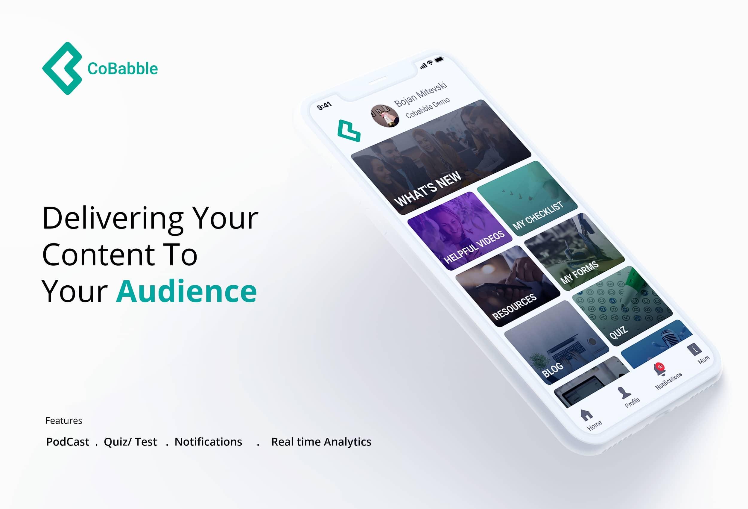 CoBabble App Redesign