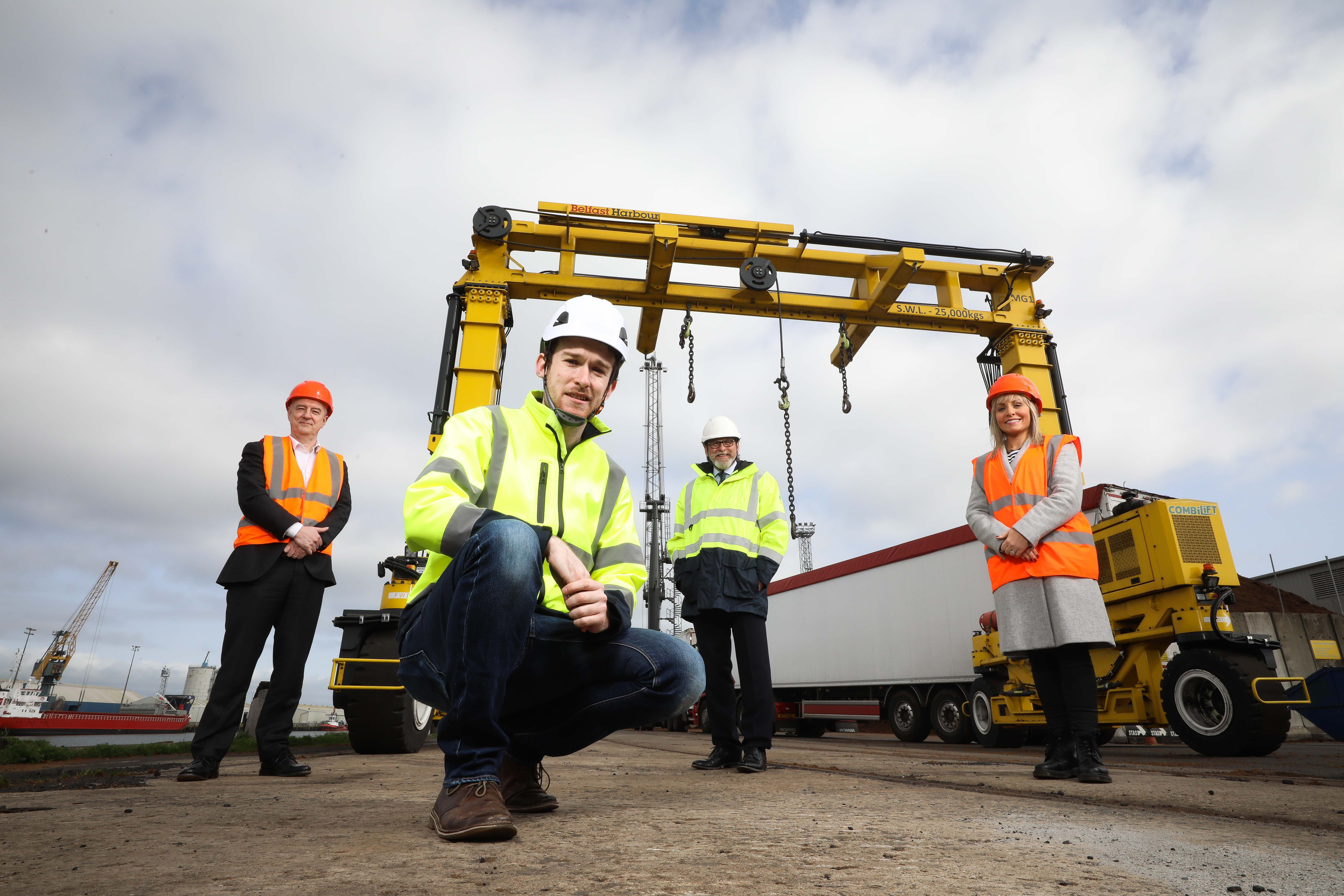 Machine Eye wins £75k funding from Techstart Ventures and Belfast Harbour, with support from BT.