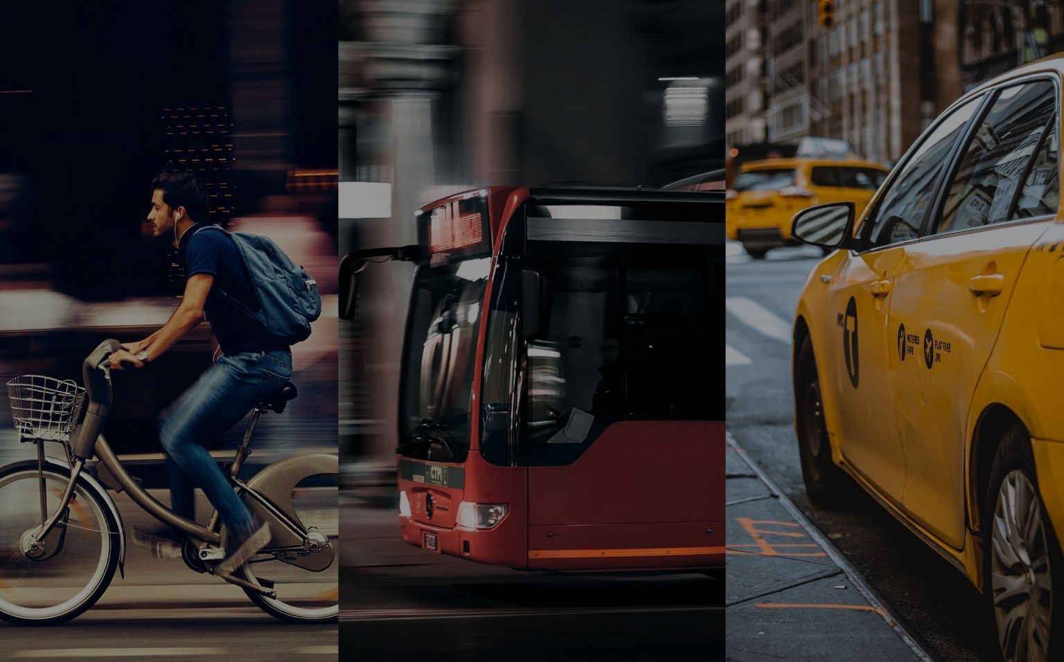 All urban transport modes